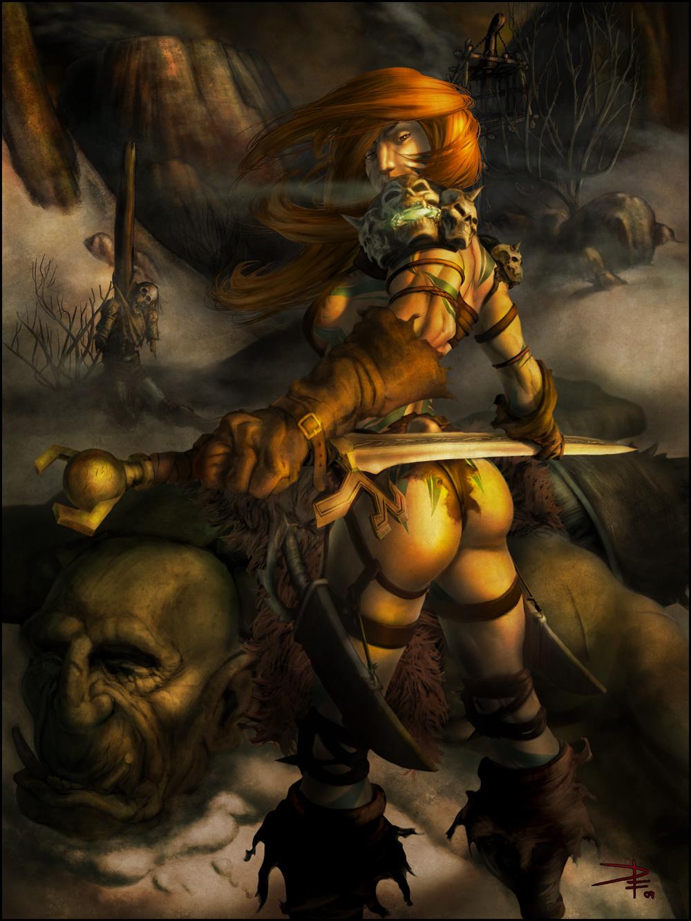 Diablo 3 crusader female nude pornos tube