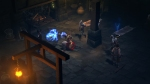 Diablo III_beta_Monk shows a zombie his weapon