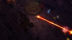 Diablo III_beta_Wizard unleashes Disintegrate